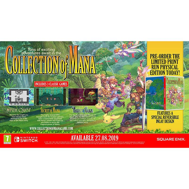 Switch game Collection of Mana